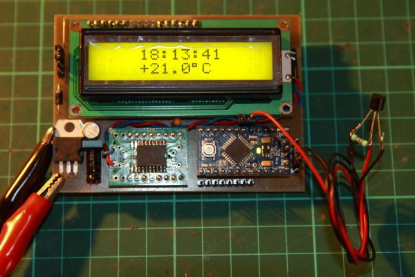 ArduinoClock+Temp