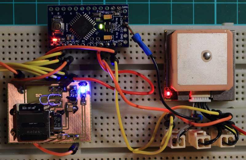 Nano GPS Logger
