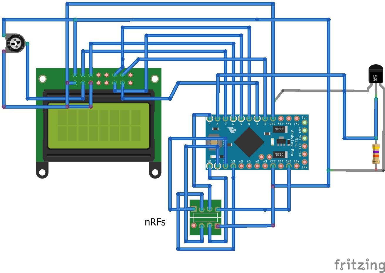 Wireless RF probe for Arduihome