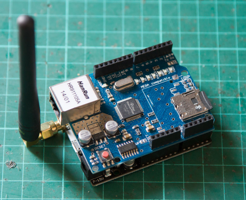 Ethernet-monitoring-with-SigFox