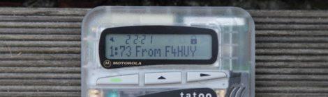 Arduino POCSAG encoder 1200bp