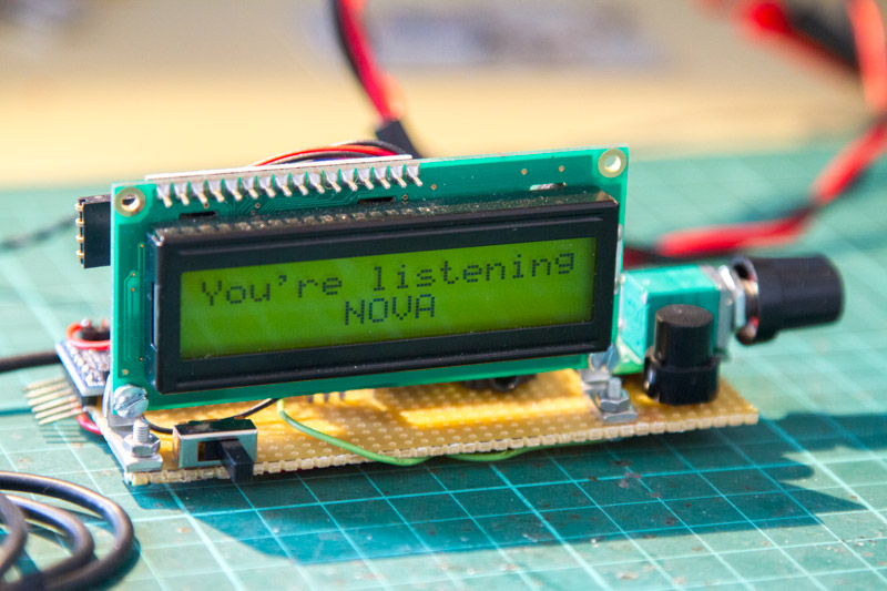 Si4703 small simple FM radio with Arduino