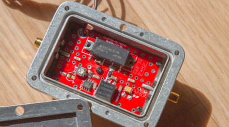 PA VHF a base de RA07M1317M