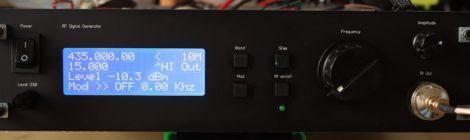 Cheap ADF4351, RF Generator, home made